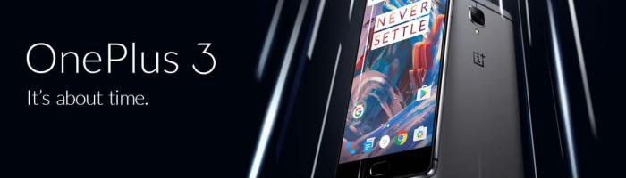 OnePlus 3 disponibil din nou în Europa
