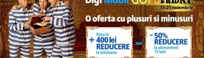 Black Friday 2016: Digi Mobil ofera pana la 400 lei reducere la telefoane sau 50% la abonament