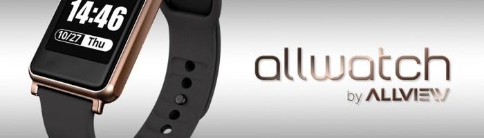 Allview a lansat primul smartwatch