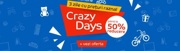 eMAG Crazy Days: reduceri pentru cei care nu au prins Black Friday