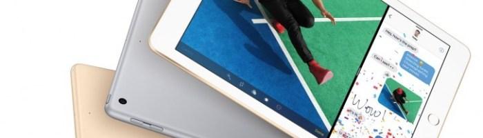 Apple anunță un nou iPad cu ecran de 9.7 inch și preț de doar 329$