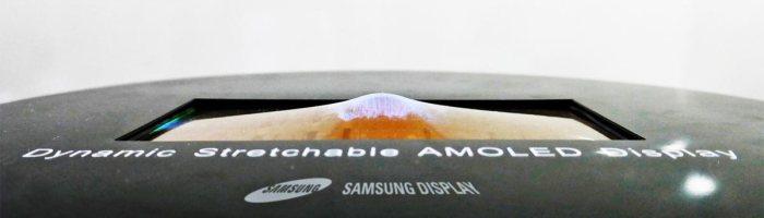 Samsung a dezvaluit primul ecran flexibil