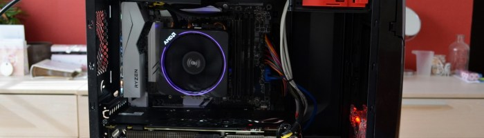 Review sistem AMD Ryzen 1700X + AMD Radeon RX 580