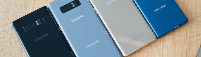 Samsung Galaxy Note 8 a fost lansat oficial