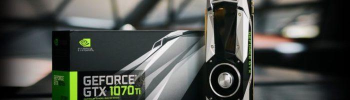 NVIDIA a anunțat GeForce GTX 1070 Ti