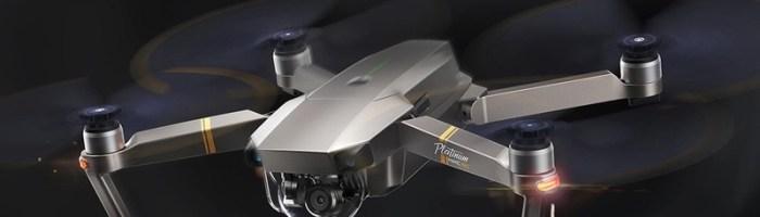 Drona DJI Mavic Pro Platinum - pret bun la un retailer din China cu transport gratuit in Romania