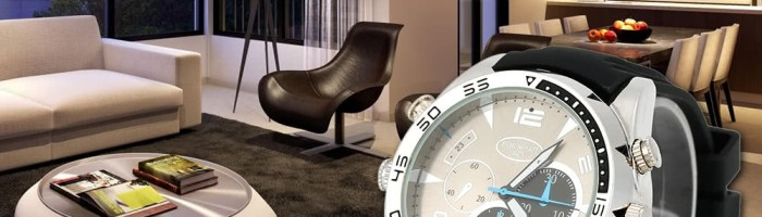Camera de spionaj ascunsa intr-un ceas elegant