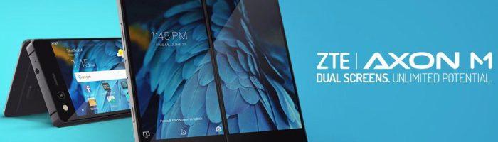 ZTE Axon M este primul telefon cu ecran pliabil perfect functional