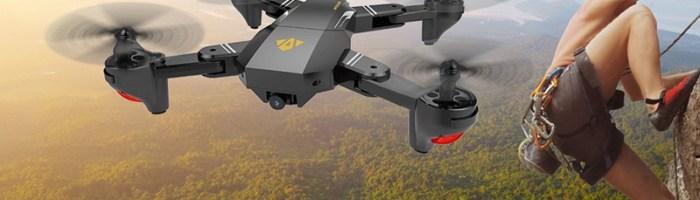 VISUO XS809HQ - drona ieftina pentru divertisment