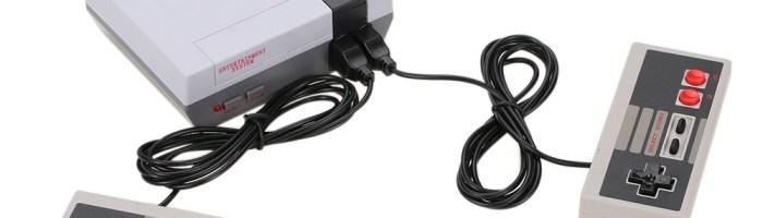 Consola NES Retro Mini cu 500 de jocuri
