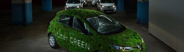 Uber Green: serviciul de transport cu masini electrice