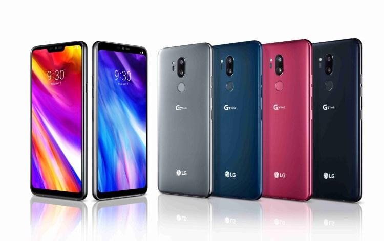 LG actualizeaza 4 modele la Android Pie