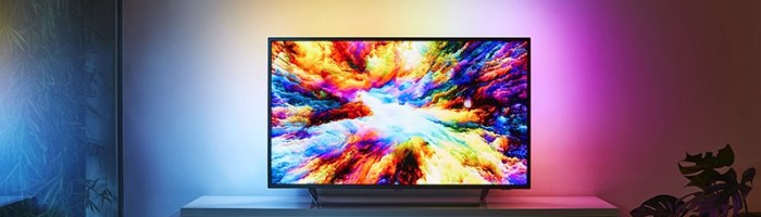 Philips a lansat in Romania televizorul 7303 – Ambilight si 4K