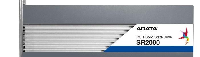 ADATA a anuntat SSD-urile SR2000 Enterprise Grade