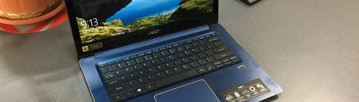 Acer Swift 3 – laptop-ul ideal pentru oamenii care calatoresc des