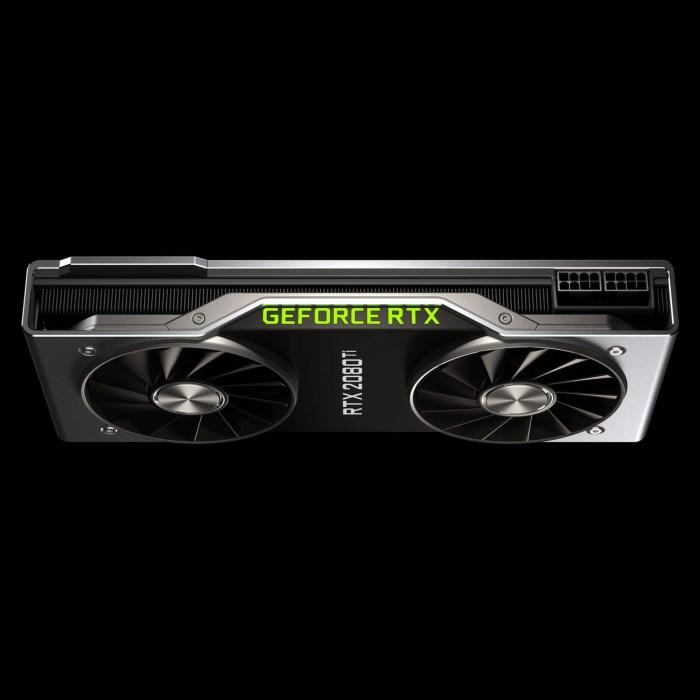 Placile video Nvidia RTX 20 vor ajunge si pe laptop-uri anul viitor