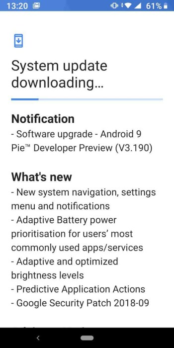 Nokia 7 Plus a primit Android Pie beta 4.1