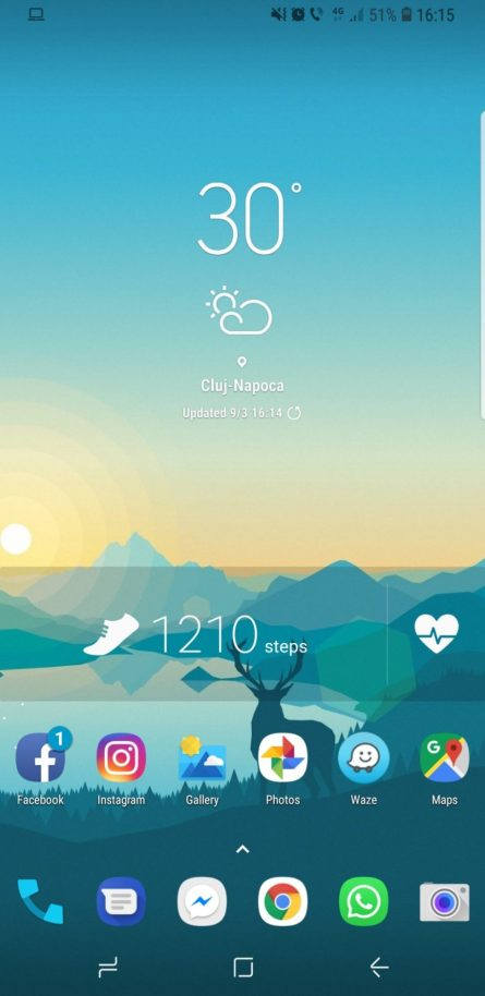 S8 menu