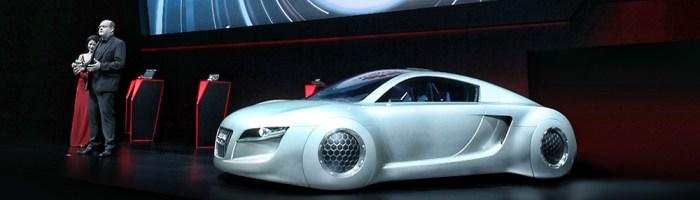 Audi Q7 cu Mobile Data Center de la Huawei poate fi vazut in China