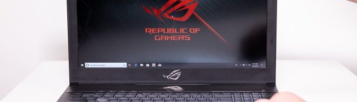 ASUS ROG Zephyrus – laptop cu ecran de 144Hz si performante de top