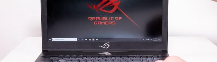 ASUS ROG Zephyrus - laptop cu ecran de 144Hz si performante de top