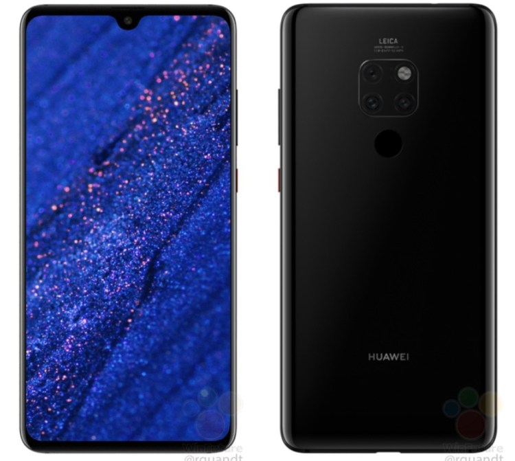 Huawei Mate 20 - notch-ul incepe sa dispara