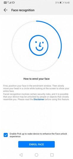 Mate20Pro Face