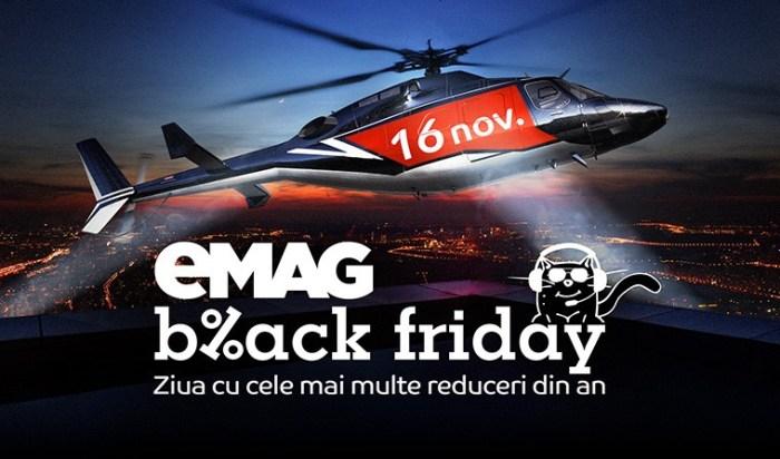 A inceput Black Friday la eMAG - Catalog reduceri si oferte bune eMAG Black Friday 2018