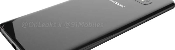 Primele imagini clare cu Samsung Galaxy S10