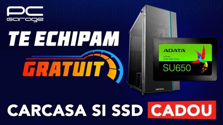 PC Garage ofera un SSD cadou la orice configuratie