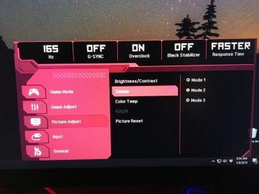 Meniu monitor LG (10)