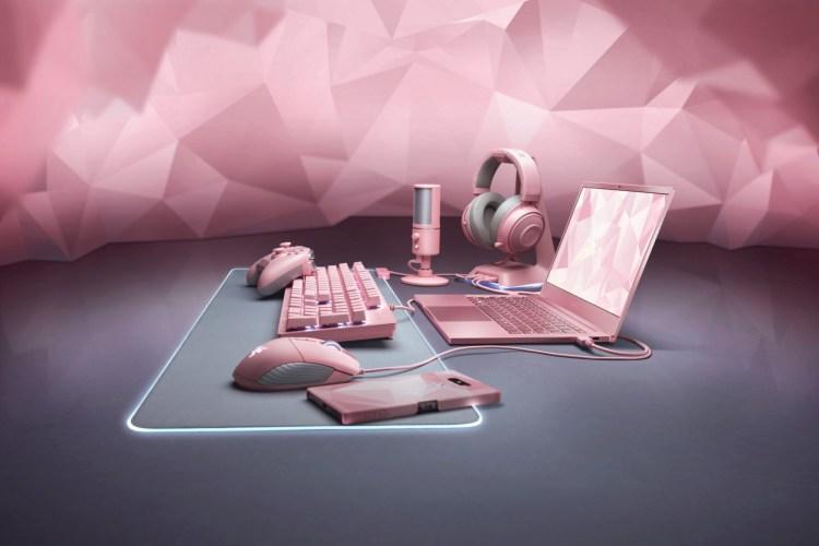 Razer a lansat periferice in culoarea Quartz Pink Edition pentru Ziua Indragostitilor