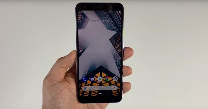 Google Pixel 3 Lite apare într-un material video hands-on