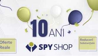 Spy Shop aniverseaza 10 ani si sarbatoreste cu reduceri si premii
