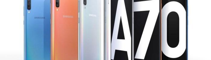 Samsung a anuntat Galaxy A70