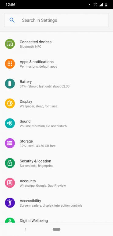 Nokia 8.1 menu (5)