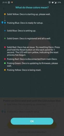 TP-Link Deco M5 2-pack app setare initiala2