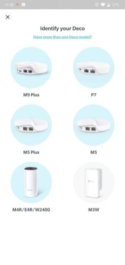 TP-Link Deco M5 2-pack app setare initiala3
