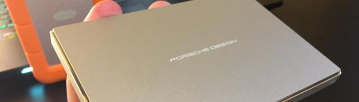 Lacie Porsche Design - un HDD extern foarte aratos