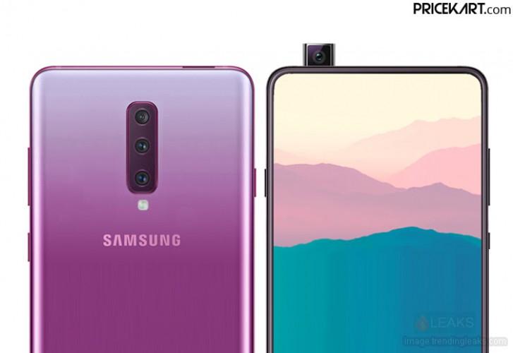 Samsung Galaxy A90 este un device pentru gaming cu camera frontala retractabila