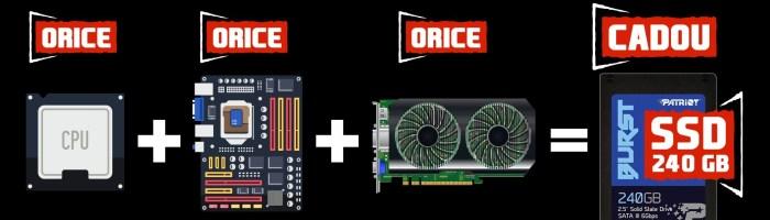 PC Garage te echipeaza gratuit cu un SSD de 240GB la orice comanda