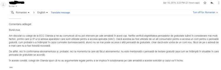 Prima luna gratis la Netflix poate fi contra-cost