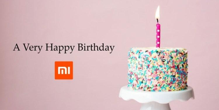 La multi ani, Xiaomi! (9 ani)