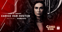 Melissandre din Game of Thrones vine la East European Comic Con