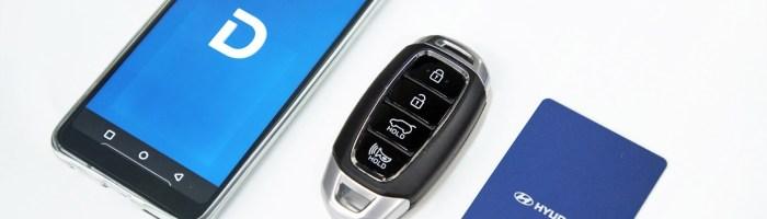 Hyundai a prezentat sistemul Digital Key prin care poti intra in masina cu telefonul