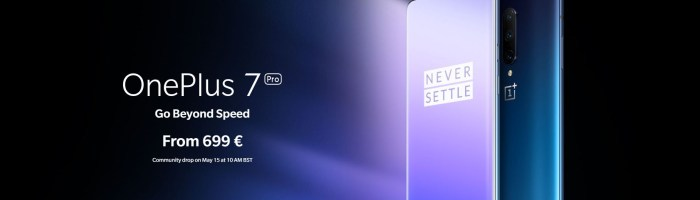 Poti cumpara OnePlus 7 PRO din Romania, preturile incep de la 699 € + VOUCHER 10 €