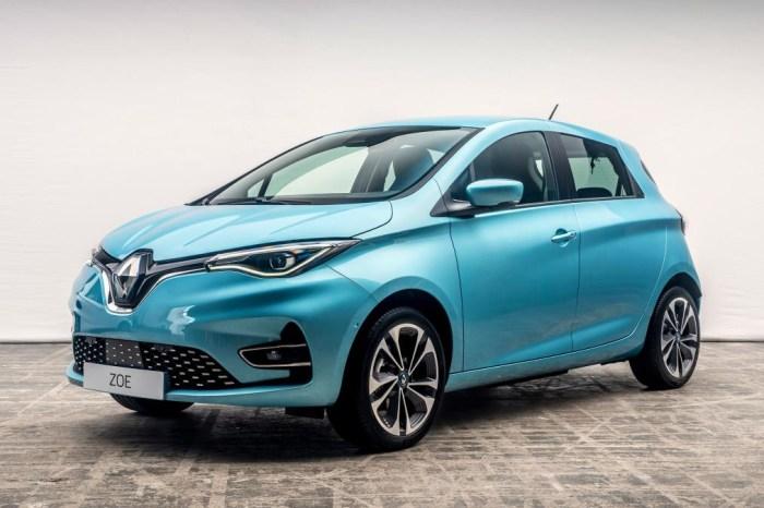 Noul Renault Zoe disponibil in Romania