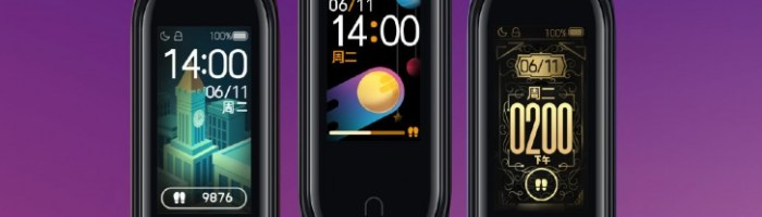 Xiaomi Mi Band 4 a fost lansata