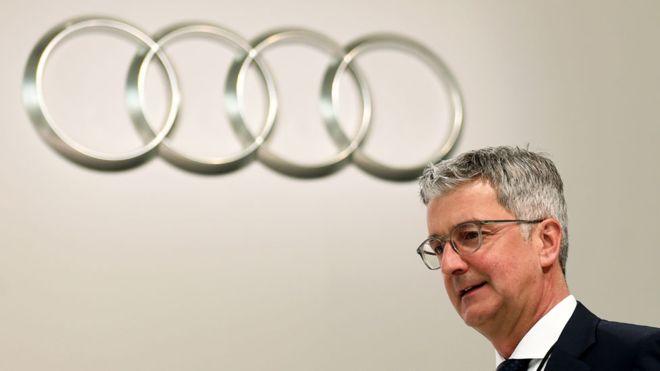 Fostul sef Audi acuzat in cazul Dieselgate