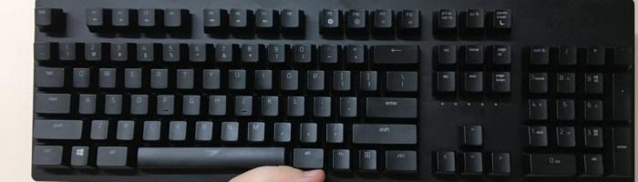 Razer Huntsman - o tastatura cu switch-uri speciale